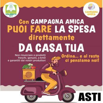 Spesa a domicilio Asti 28/3