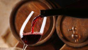 Vino rosso Bicchiere