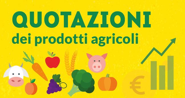 Quotazioni agricole