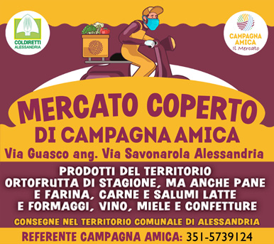 Mercatro Coperto Campagna Amica AL