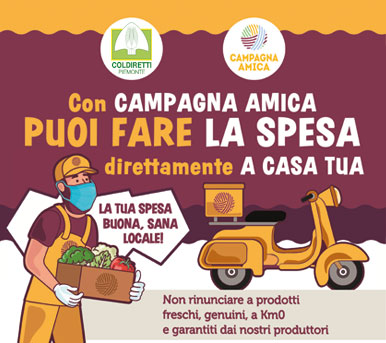 Spesa a domicilio – Campagna Amica – Torino