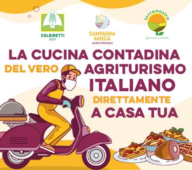 La cucina contadina del vero Agriturismo Italiano direttamente a CASA TUA